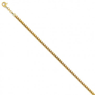 14K 2.5mm FRANCO chain 24'' EJCN35216