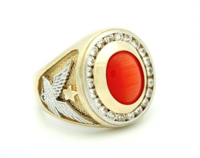 ring jewels rings en with design silver marquis tiger shape redbrown eye in