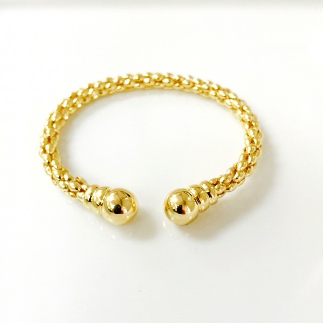 bracelet two tone latest gold deals gg goods solid link groupon cuban