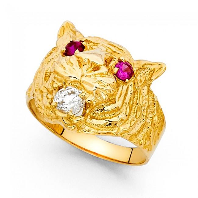 s media cool bands men tiger matching zodiac band unique ring rings chinese gold dragon white wedding and