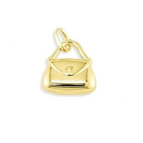 14K yellow gold Purse charm EJCM26537