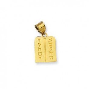 14K Ten Commandments charm EJCM28722