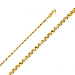 "14K 2mm Box Chain 16"" EJCN35304X"