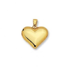 14K yellow gold Heart charm EJCM26510