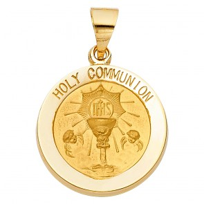 14K Holy Communion Medal EJPT1250