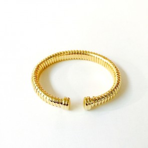 14K Italian Tubogas bangle EJB67505