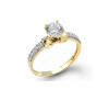14K fancy engagement ring EJLRCZ02