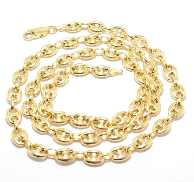 14k Gold 12mm Anchor Link Chain 22 Quot Ejcn35508x
