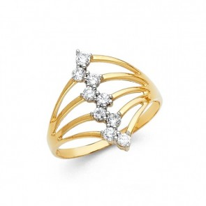 14K yellow Semanario ring EJRG600